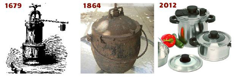 A Short History of Pressure Cooking