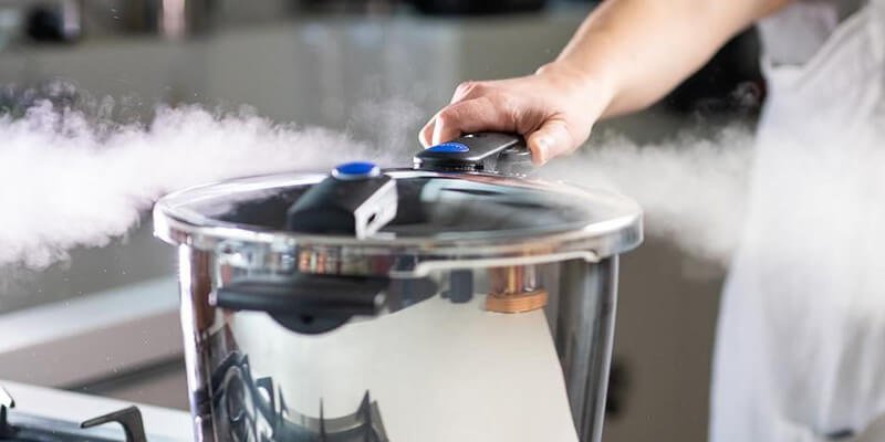 Using a Pressure Cooker