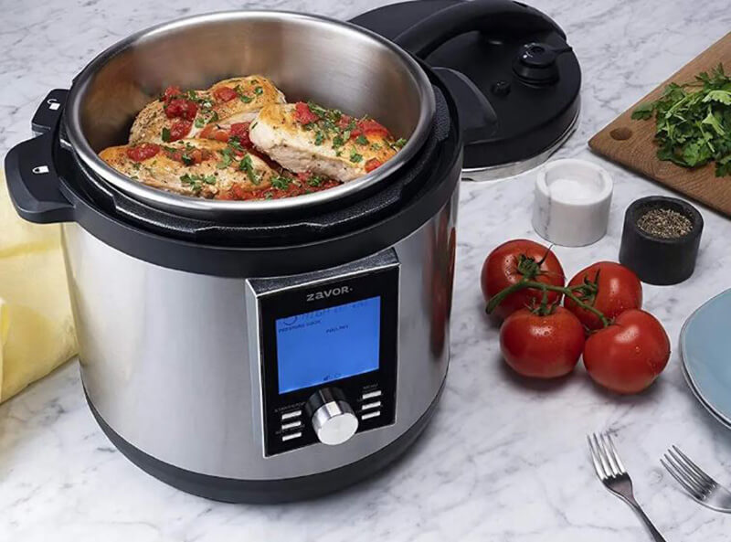 Zavor LUX Edge LCD Programmable Electric Pressure Cooker