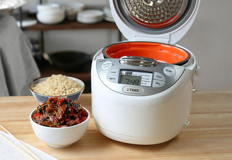Compare tiger vs zojirushi rice cooker
