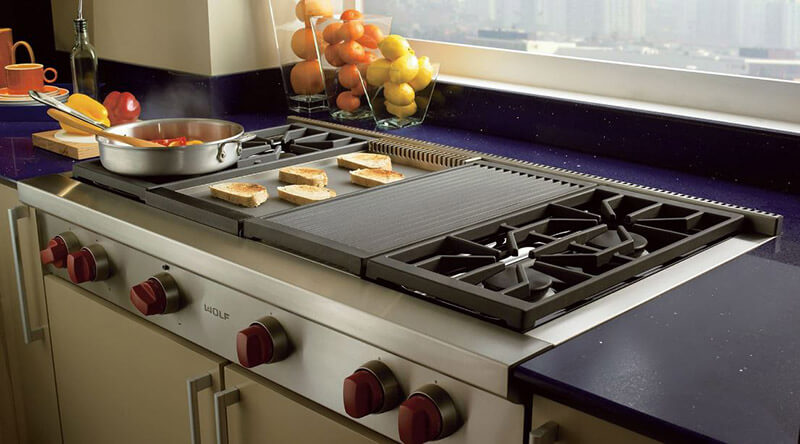Compare wolf vs thermador cooktop