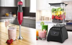 immersion blender vs food processor