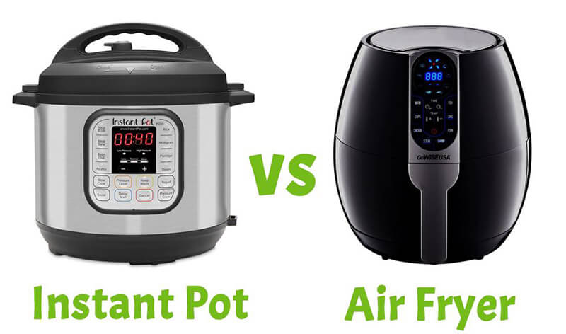 Instant Pot Vs Air Fryer 2021: Top Full Guide
