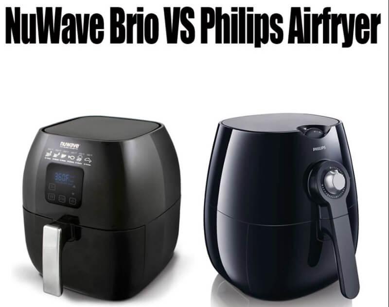 philips air fryer vs nuwave