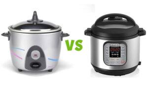 rice cooker vs pressure cooker
