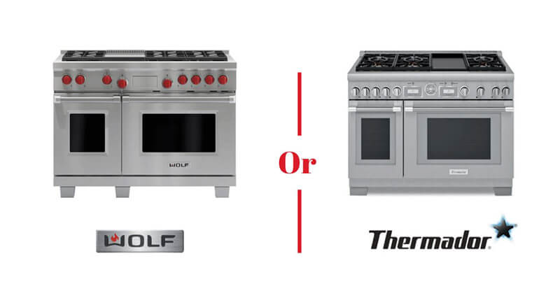 wolf vs thermador cooktop